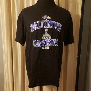 NFL Baltimore Ravens Super Bowl XLVII T-Shirt XL
